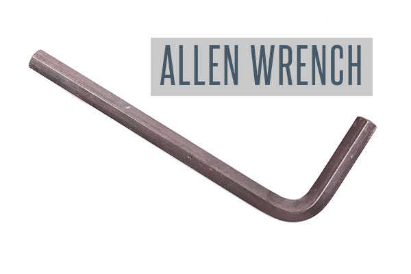 You can use an Allen wrench to unjam your disposal from stuck food.
