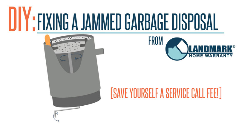 Learn how to fix your jammed garbage disposal with this article.