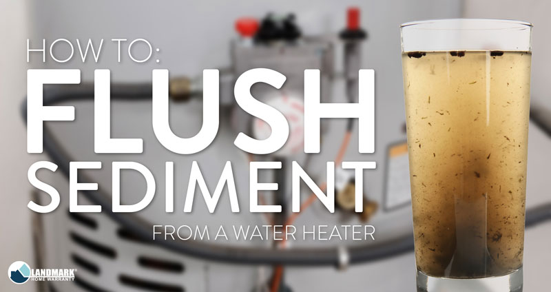 How to Flush Sediment Out of a Water Heater