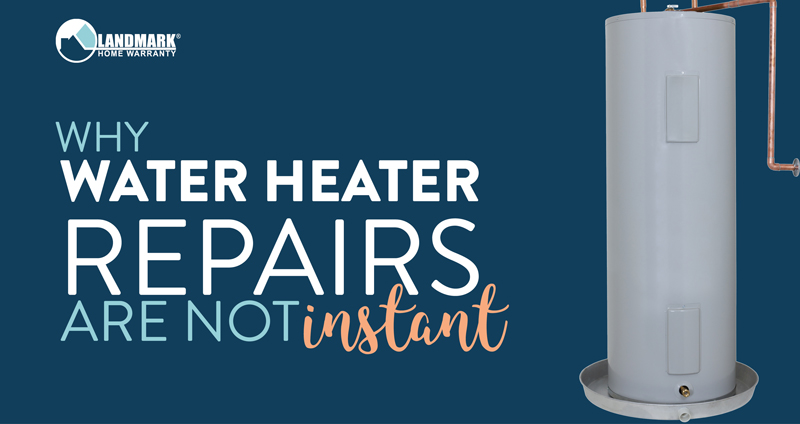 Water heater repairs and replacements are not always instantaneous. Here's why that is.