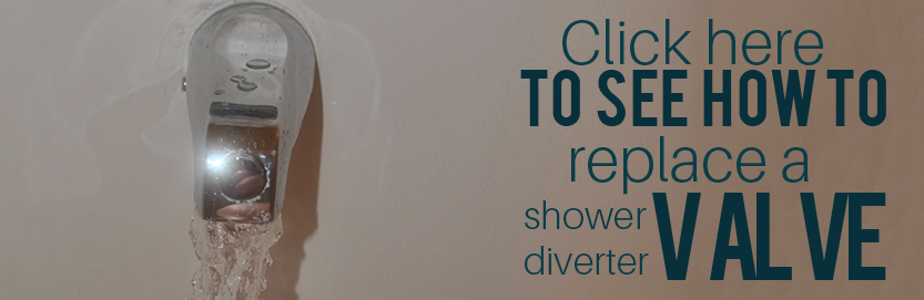 Learn how to replace the shower diverter valve here.