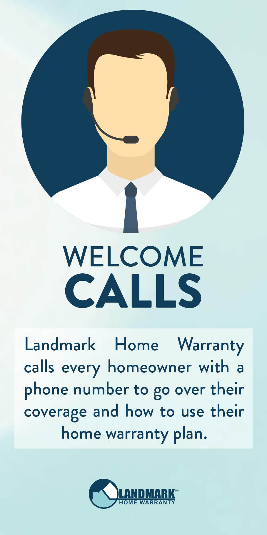 Without a phone number homeowners do not get a welcome call.