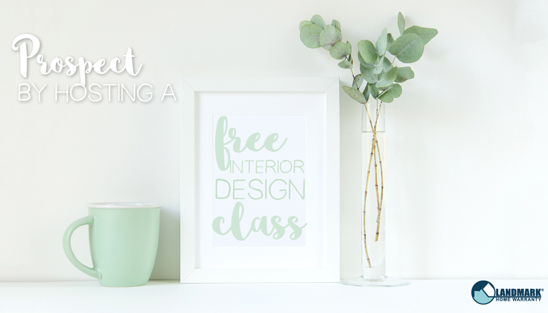 Prospect by hosting a free design class.