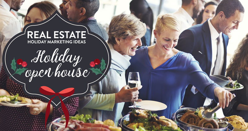 Host a open house holiday party.